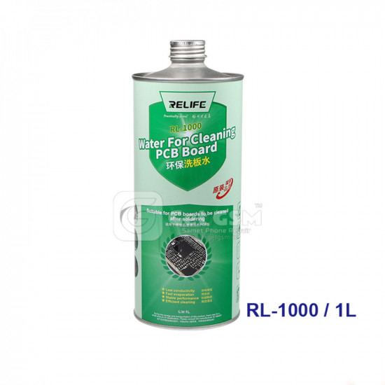Relife Rl-1000 Water For PCB Board Cleaning